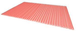 東プレ シャッター式風呂ふた カラーウェーブ 70×110cm ピンク M11