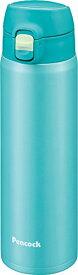ピーコック ステンレスボトル ワンタッチマグ 0.55L スカイブルー AMY-55 ASK
