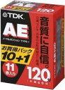 TDK オーディオカセットテープ AE 120分11巻パック [AE-120X11G]