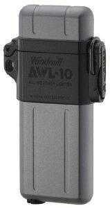 WINDMILL ウインドミル ガスライター AWL-10 内燃式 防水 耐風対応 ガンメタル 307-0002