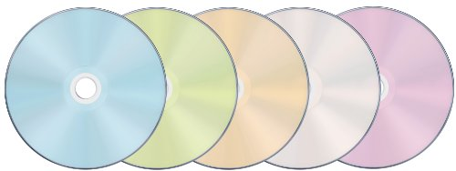 TDK 録画用ブルーレイディスク BD-R 25GB 1-4倍速 5色カラーミックス ワイドプリンタブル対応 10枚 5mmスリムケース BRV25PWMB10A