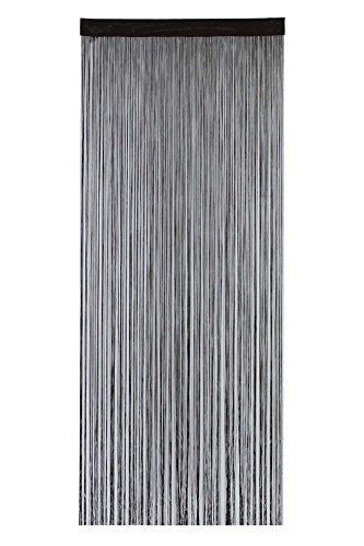 narumikk のれん ポリヒモスクリーン ブラウン 210cm丈 19-966
