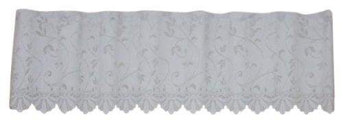 narumikk カフェカーテン UVカットサラサ 30cm丈 16-336