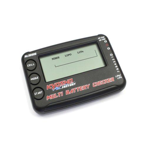 京商 マルチバッテリーチェッカー ラジコン用パーツ 80906