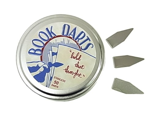 【BOOK DARTS】ブックダーツ シルバー(ステンレス)50個缶入り