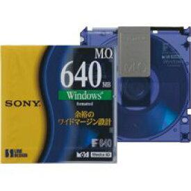 SONY EDM-640CDF(Windowsフォーマット済3.5インチMOディスク)