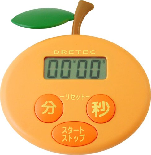 ドリテック オレンジタイマー オレンジ T-167OR
