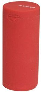 Dreams(ドリームズ) 携帯灰皿 ポケットアッシュトレイ ラバー ハニカム 6本収納 レッド MDL45115