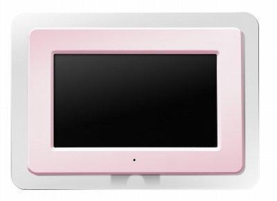 GREEN HOUSE 7型カラー液晶搭載デジタルフォトフレーム ピンク