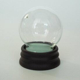スノードーム自作キット ガラス製 Mサイズ パウダー付