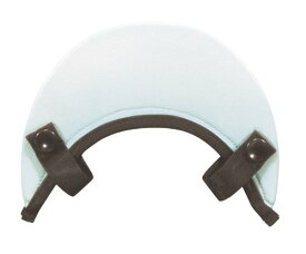 rin project(リンプロジェクト) Casque [カスク用バイザー] 牛革 ホワイト