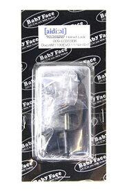 ベビーフェイス(BABY FACE) ヘルメットロック DUCATI M1100EVO 11- ブラック 009-LCD03BK