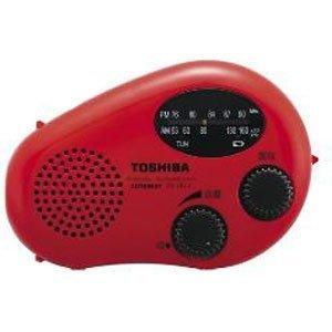 TOSHIBA 防水充電ラジオ CUTEBEAT TY-JR11(R)