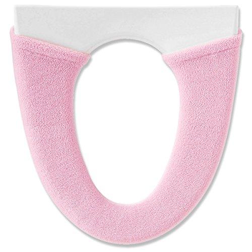 オカ 便座カバー デイジーマルシェ 洗浄暖房型 ピンク 抗菌 防臭 ソフトホック