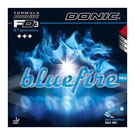 DONIC(ドニック) 卓球 ブルーファイア M2 裏ソフトラバー レッド MAX AL064