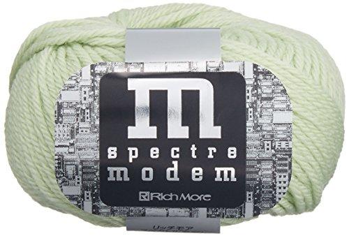 リッチモア スペクトルモデム 毛糸 極太 Col.9 黄緑 系 40g 約80m 5玉セット 2098