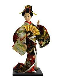 日本人形12インチ 扇子 A 303-063