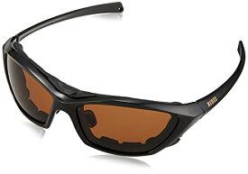RIDEZ Protection Eyewear(ライズプロテクションアイウェア) ブラックフレーム ブラウン偏光レンズ RS903-6
