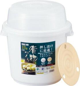 リス『手軽にいつでも手作りの味が楽しめる』 ピクルスメイト 11型 ホワイト