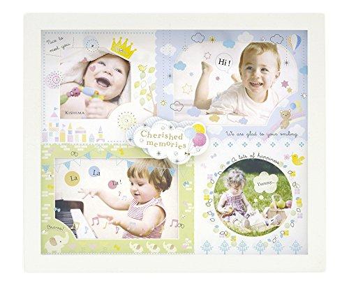 キシマ Kishima アミカ ベビーフレーム Blue ブルー KP-31093 0ヶ月~36ヶ月 出産祝い