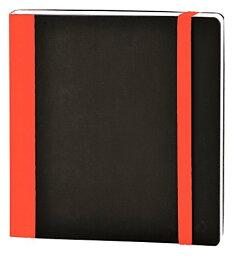 クオバディス ソフト&カラー ノート 16x16cm 横罫 オレンジ qv23779or