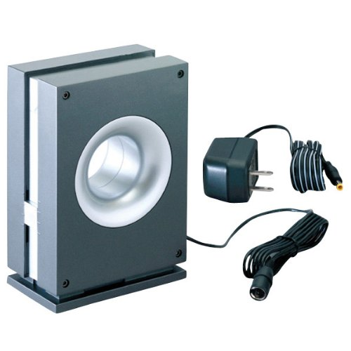 DXアンテナ 室内アンテナ ブースター内蔵 強電界用 メタリックグレー US110A