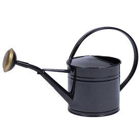 花ごころ ブリキ ウォータリングカン 1.5L ブラック