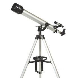 MIZAR-TEC 天体望遠鏡 屈折式 口径60mm 焦点距離700mm 上下微動装置付きマウント ST-700