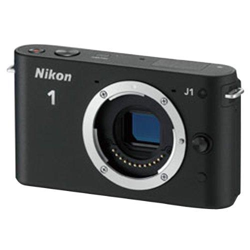 Nikon ミラーレス一眼カメラ Nikon 1 (ニコンワン) J1 (ジェイワン) ボディ ブラック N1 J1 BK