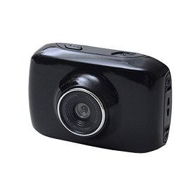 山善(YAMAZEN) キュリオム アクションムービーカメラ ブラック AMC-100(B)