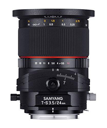 SAMYANG 単焦点ティルトシフトレンズ T-S 24mm F3.5 フジ X用 885878