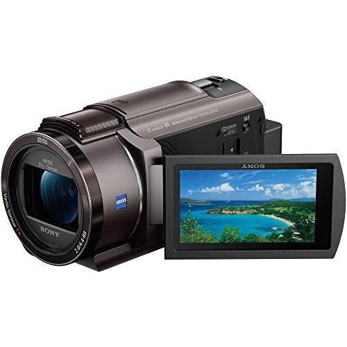 ソニー SONY ビデオカメラ FDR-AX40 4K 64GB 光学20倍 ブロンズブラウン Handycam FDR-AX40 TIC