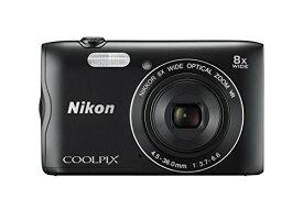 Nikon デジタルカメラ COOLPIX A300 光学8倍ズーム 2005万画素 ブラック A300BK