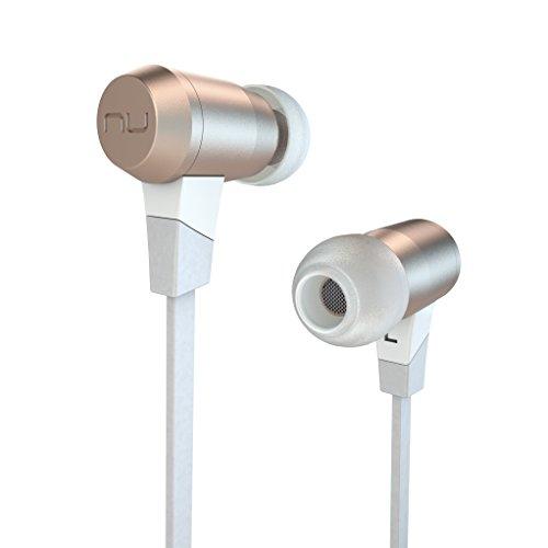 NUFORCE Bluetooth対応[防水仕様][マイク付] カナル型イヤホン (ゴールド) BE6i/GOLD 0.55mコード