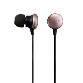エレコム ハイレゾイヤホン シンプルでかわいい装いから生まれる圧倒的な高音質 Colorsシリーズ ピンク EHP-F/CC1000APN