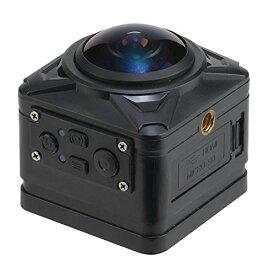 ジョワイユJOYEUX 4K WiFi 360°対応 800万画素 キューブアクションカメラPROMODEL BK