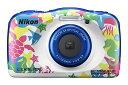 Nikon デジタルカメラ COOLPIX W100 防水 W100MR クールピクス マリン