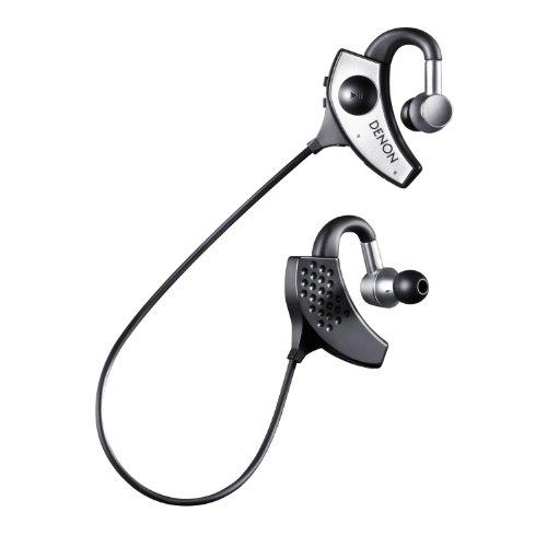 DENON デノン イヤホン Bluetooth対応 ワイヤレス シルバー AH-W200EM