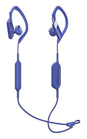 パナソニック ワイヤレスイヤホン Bluetooth対応 防滴仕様 スポーツ向け ブルー RP-BTS10-A
