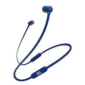 JBL T110BT Bluetooth イヤホン ワイヤレス/マイクリモコン付き/マグネット搭載 ブルー JBLT110BTBLUJN 【国内正規品/メーカー1年保証付き】