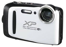 富士フイルム デジタルカメラ XP130 ホワイト FX-XP130WH