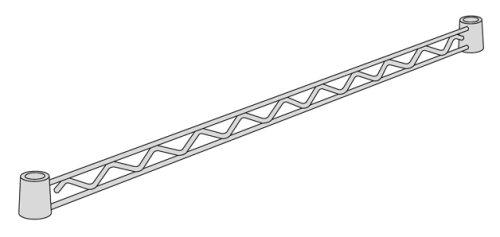 ホームエレクター ハンガーレール クローム D450mm用 (2本入) HA118C