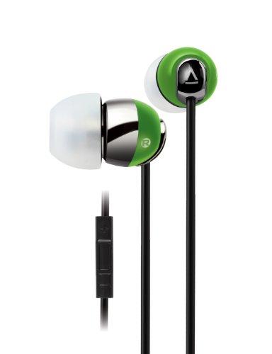 Creative iPhone・スマートフォン対応 マイク付インナーイヤー型イヤホン HS-660i2 グリーン HS-660i2-GR