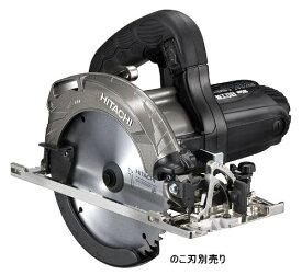 日立工機 深切り丸のこ のこ刃径165mm AC100V 1050W 切込み深さ調整機構 LEDライト付 ブラック のこ刃別売り 本体のみ C6MBYA2(NB)