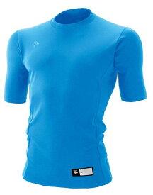 DESCENTE(デサント) ジュニア丸首半袖リラックスFITシャツ 160 ブルー JSTD-700