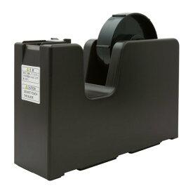 ニチバン テープカッター台 折り返しタブが簡単タブメーカー TC-TB64 ダークブラウン