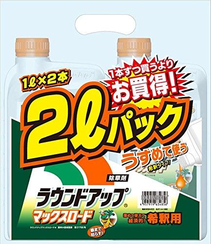 日産化学 ラウンドアップマックスロード 1L×2本