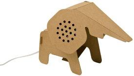 【国内正規品】 Landport スマートフォン用ペーパークラフト・スピーカー Craft Zoo Elephant Speaker ZOO-16ES