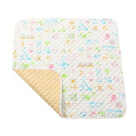 baby.e-sleep(ベビーイースリープ)×baby toi(ベビートーイ) baby book fu fu colorful プレイマット(M) 100×100cm