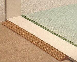 TOTO 段差解消スロープ 天然木タイプ 長さ76cm 高さ1.5cm(1本入)? ブラウン EWA112SH15#BF